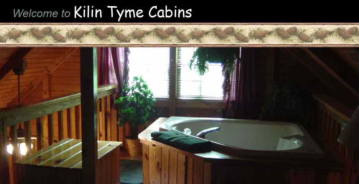 Kilin Tyme Cabins - hot tub for relaxing