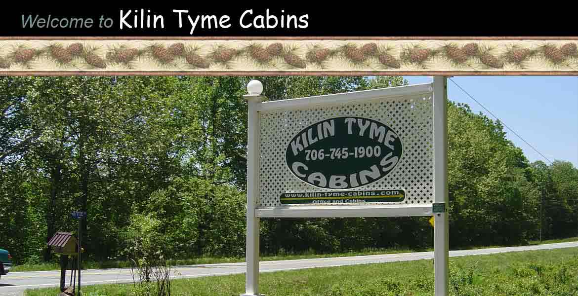 Kilin Tyme Cabins on Highway 129 in Blairsville, Georgia