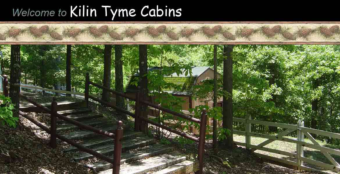 Kilin Tyme Cabins - natural beauty