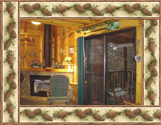 The Willow Cabin at Kilin Tyme Cabins